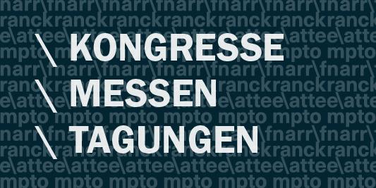 Kongresse-Messen-Tagungen